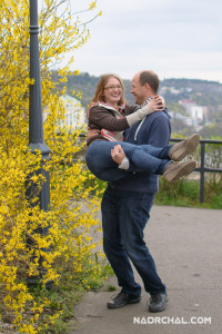Marie & Pavel Photoshoot - April 2016. Made by Tomas Nadrchal, photographer.